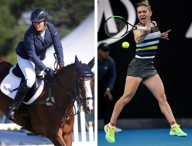 Фигура теннисистки и наездницы