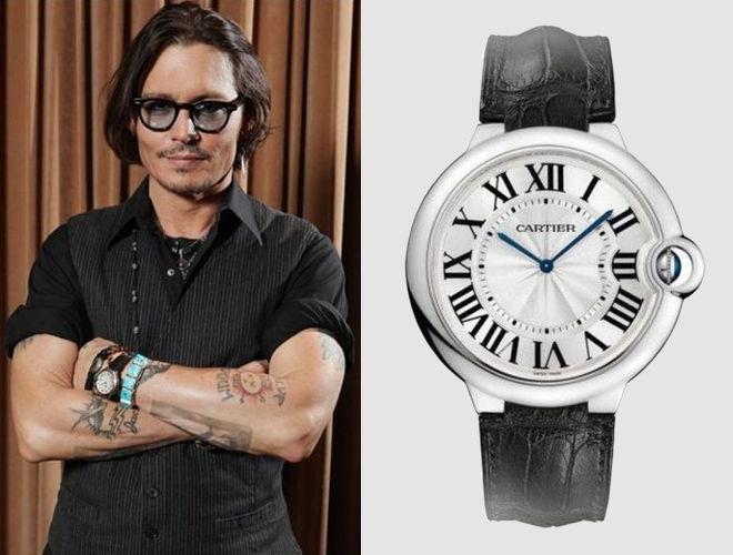 Часы Джонни Деппа