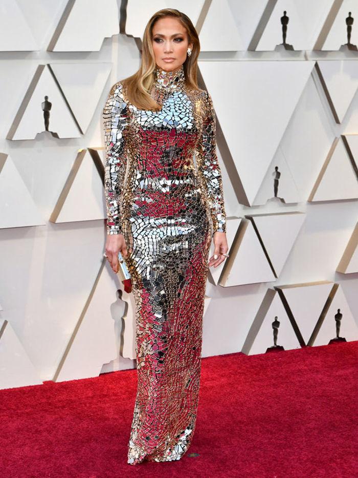 Дженнифер Лопес наряд на Оскар 2019