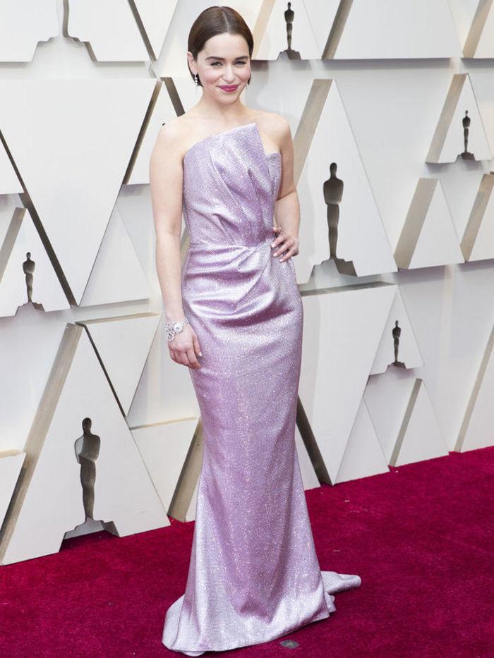 Эмилия Кларк наряд на Оскар 2019