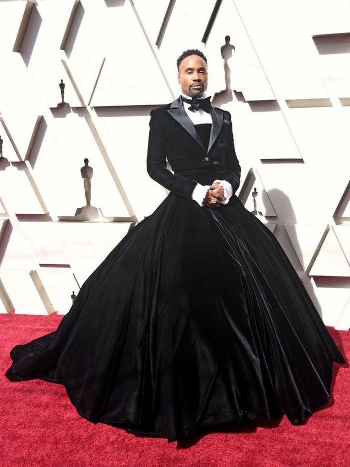 Билли Портер в платье на Оскар 2019