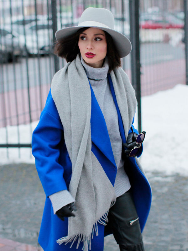 Серый с синим — прекрасная комбинация