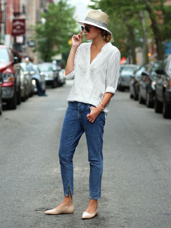 Девушки в соломенных шляпах восхитительны